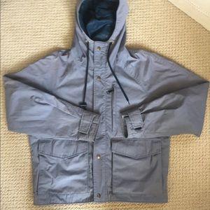 eddie bauer storm jacket gray